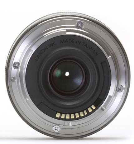 ef-m lens from camera end