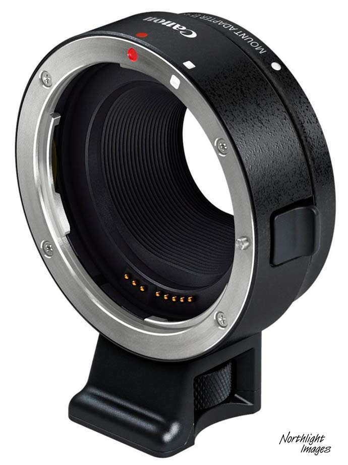 Ef-M to EF lens adapter