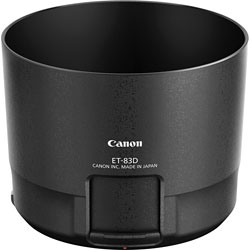 Canon EF100-400mm f/4.5-5.6L IS II USM telephoto zoom lens lens hood