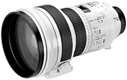 Canon EF200mm f/1.8L USM telephoto lens