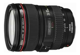 EF24-105mm f/4L IS USM standard zoom lens