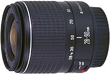 Canon EF28-90mm f/4-5.6 standard zoom lens