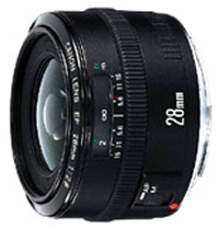 Canon EF28mm f/2.8 wide angle lens