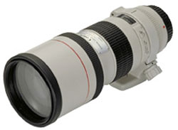 Canon EF 300mm f/4L USM telephoto lens