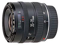Canon EF35-70mm f/3.4-4.5 standard zoom lens