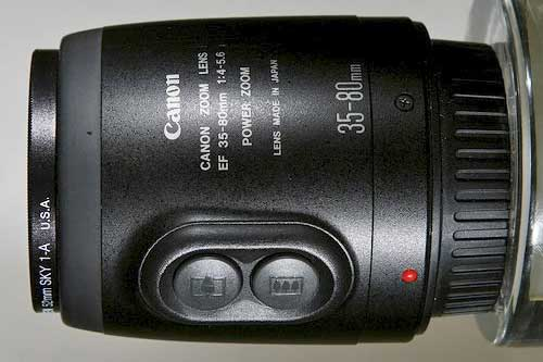 Canon EF35-80mm f/4-5.6 PZ