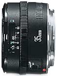 Canon EF35mm f/2 wide angle lens