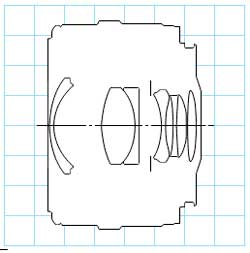 Canon EF35mm f/2 wide angle lens block diagram