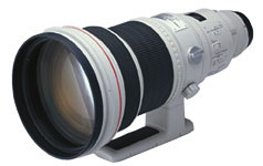 Canon EF400mm f/2.8L II USM super telephoto lens