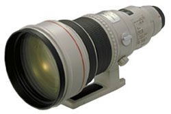 Canon EF400mm f/2.8L USM super telephoto lens