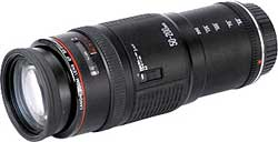 Canon EF50-200mm f/3.5-4.5L telephoto zoom lens