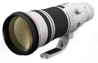Canon EF 500mm f/4L IS ii USM super telephote lens
