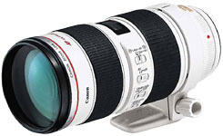 Canon 70-200mm f/2.8L IS USM telephoto zoom lens