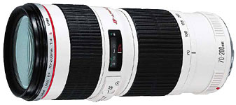 Canon EF 70-200mm f/4L USM telephoto zoom lens