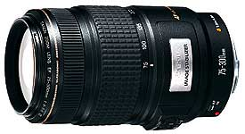 Canon EF75-300mm f/4-5.6 IS USM telephoto zoom