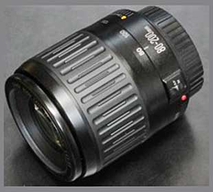 Canon EF80-200mm f/4.5-5.6 telephoto zoom lens