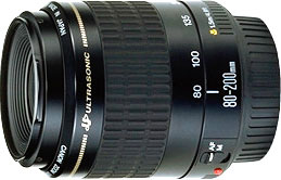 Canon EF80-200mm f/4.5-5.6 USM telephoto zoom lens