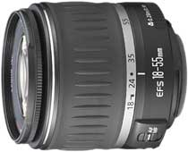 Canon EF-S 18-55mm f3.5-5.6 zoom lens