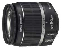 Canon EF-S 18-55mm f3.5-5.6 IS standard zoom lens